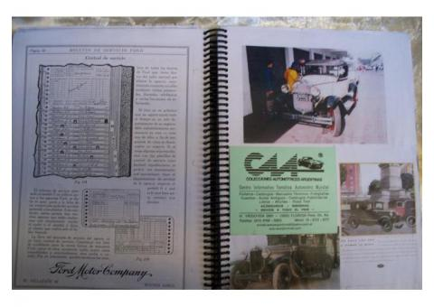 * MANUALES  TECNICOS FORD A*